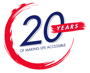 20 years of making life accessible
