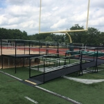The Amramp Northern NJ team installed two wheelchair ramps to provide access to the stage for all graduating students at Livingston High School in Livingston, NJ.