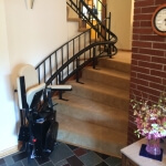 Stair Lift with curved stairs