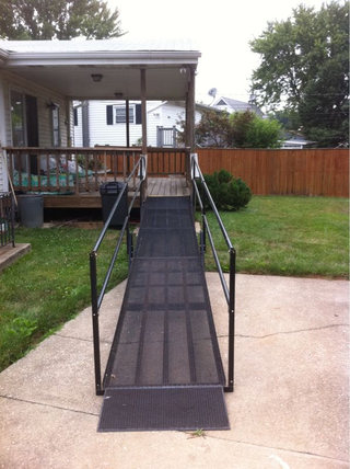 Residential ramp in Catonsville, MD