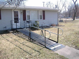 Residential Ramp in Lebanon, IL