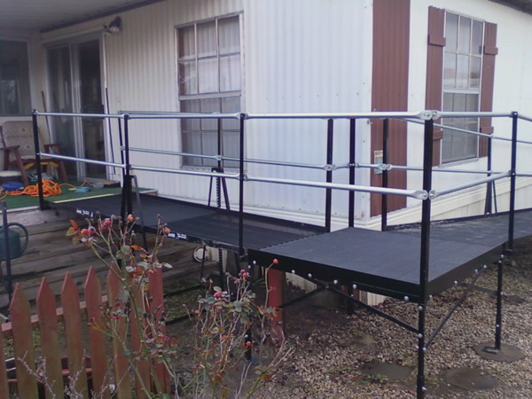 Residential Ramp for Spouse, Northern California