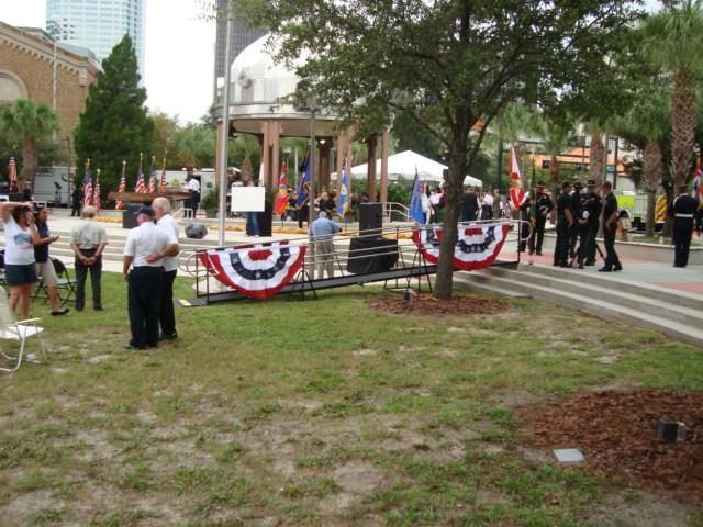 Hillsborough County rented a ramp for the 10th Anniversary Remembrance of 9/11 held at Joe Chillura Courthouse in Downtown Historic Tampa Florida.