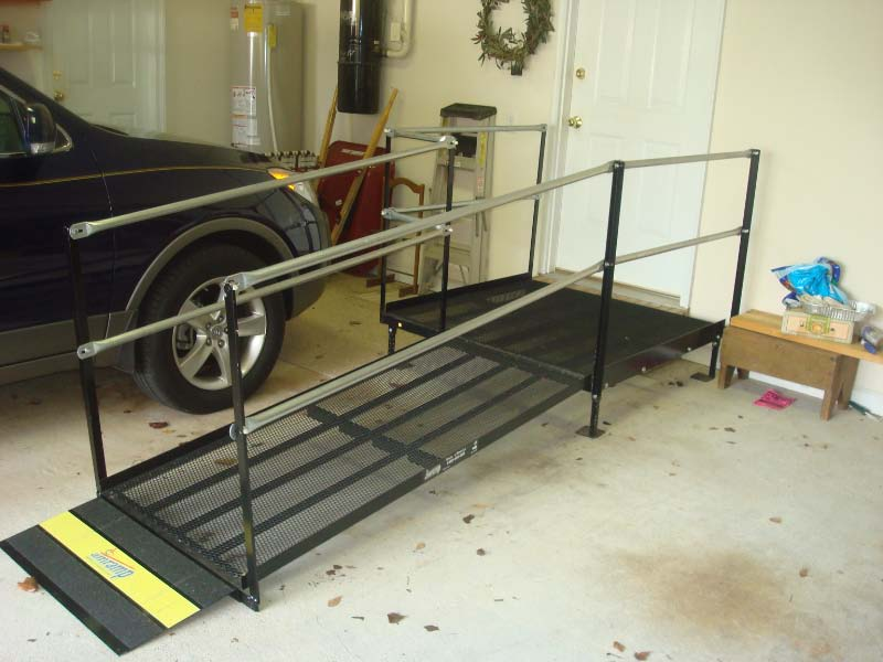 Residential Ramp in the garage