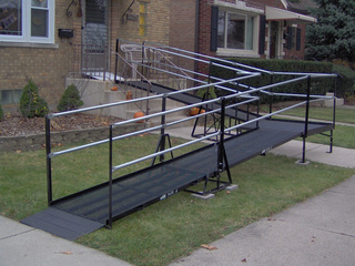 Residential ramp in North Riverside, IL