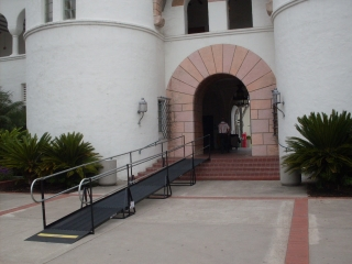 Campanile, San Diego State University Residential and commercial ramps