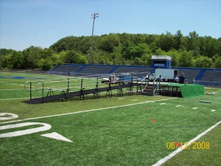 Graduation ramp rental, Sayreville HS, NJ - Rent for just one day!