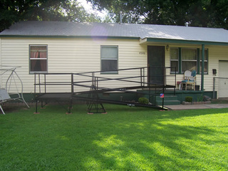 Amramp works with Rebuilding Together in Tulsa and nationwide to install ramps.