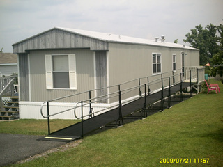 Amramp's modular ramp brings accessibility home in Fairmont, WV