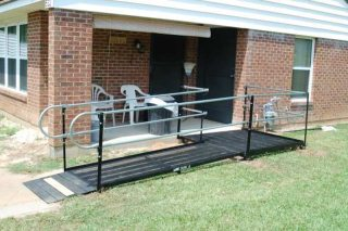 Providing wheelchair access for an apartment complex in Maple Grove, MN