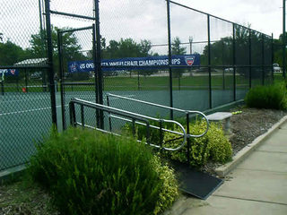 US Open Wheelchair Tennis Championship Rent a ramp for just one day.