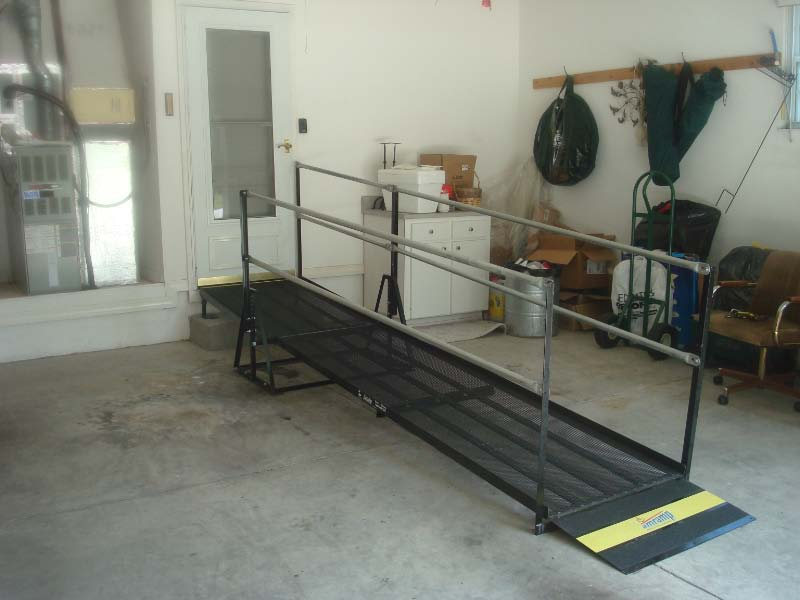 Ramp rental provides garage access in Lake City, FL