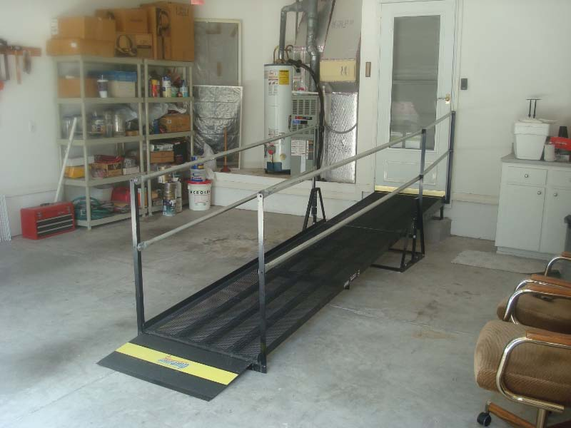 Amramp ramps can be big or small for your specific needs, as seen here in this Alachua residence.
