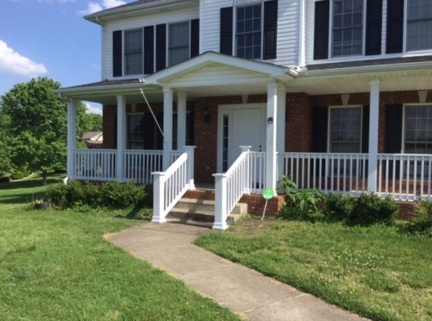 Dave Taylor and the Amramp East Tennessee page installed these custom handrails for a happy client in Adams, TN.