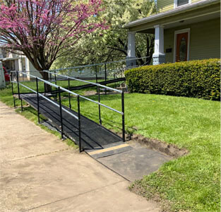 A customer from Fort Wayne, IN now has a wheelchair accessible home. Our Huntington, IN team is happy to accommodate your home and lifestyle .