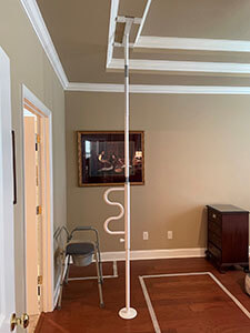 Our Amramp team of Eastern Tennessee installed this mobility bar for a customer in Knoxville, TN.