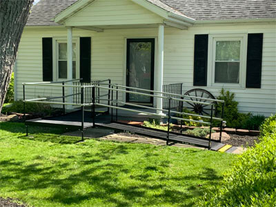 This peaceful home in Muncie, IN is now accessible to all. Our Huntington, IN team is excited to help your mobility ideas come to fruition