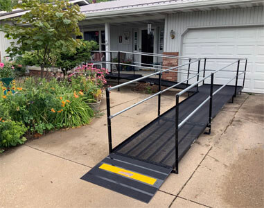 This charming home is now equipped with a new wheelchair ramp. Our Huntington, IN team is committed to finding the right solution for you
