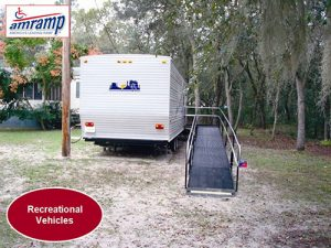 Ramp on RV