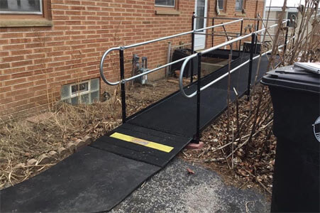 Amramp Southeastern Wisconsin has been busy making life accessible in Wisconsin. First stop today was to install a wheelchair ramp in Menominee Falls for a woman who was injured at work. Then the team was back on the road to Fond du Lac to put a ramp on a house for a repeat customer. They had one of our ramps in early 2019 and found themselves needing it again. Whether it's for recovering from a procedure or a more permanent need, Amramp Southeastern Wisconsin is making life accessible.