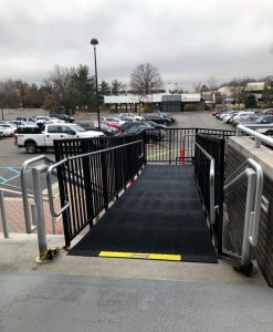 Dave Hoglund and the Amramp Northeastern PA/Central NJ Amramp team installed this commercially compliant PRO ramp in Parsippany, NJ.