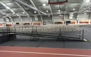Haverford College turned to Amramp Philadelphia again this year to provide wheelchair access during the graduation ceremony.