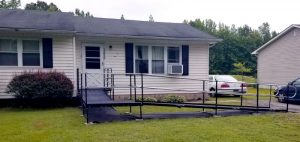 This ramp in partnership with the ALS Association was installed by the Amramp Greater PA team in Dover, DE.