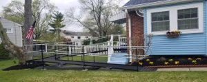The Amramp Greater Philadelphia team installed this photo at a client's home in Cinnaminson, NJ.