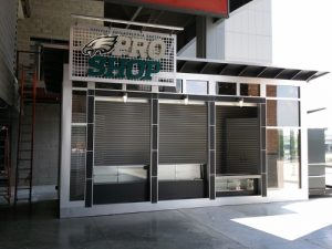 The Philadelphia Eagles turned to Amramp Philadelphia to provide wheelchair access for their new Pro Shop at Lincoln Financial Field.