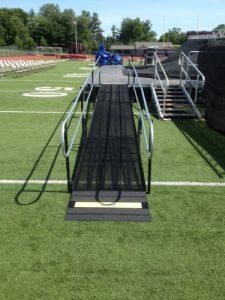 Amramp Philadelphia provided wheelchair access for the Centennial School District High School Graduation in Warminster, PA.