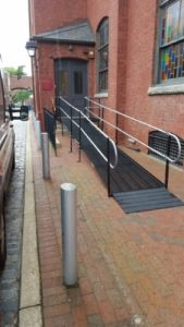 The Mother Bethel Church in Philadelphia, Pennsylvania contacted Nick Marcellino and the Amramp Philadelphia team to install a wheelchair ramp to allow access for all parishioners.