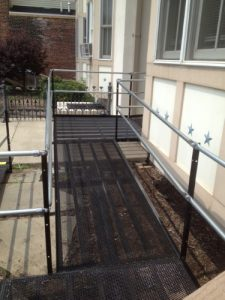 Ramp with stairs in Upper Darby, PA.
