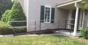 This Downingtown, Pennsylvania home is now inviting and accessible thanks to this wheelchair ramp installed by Nick Marcellino and the Amramp Philadelphia team.