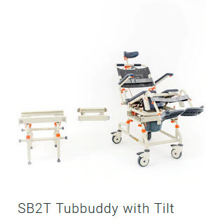 Tubbuddy with Tilt transfer system