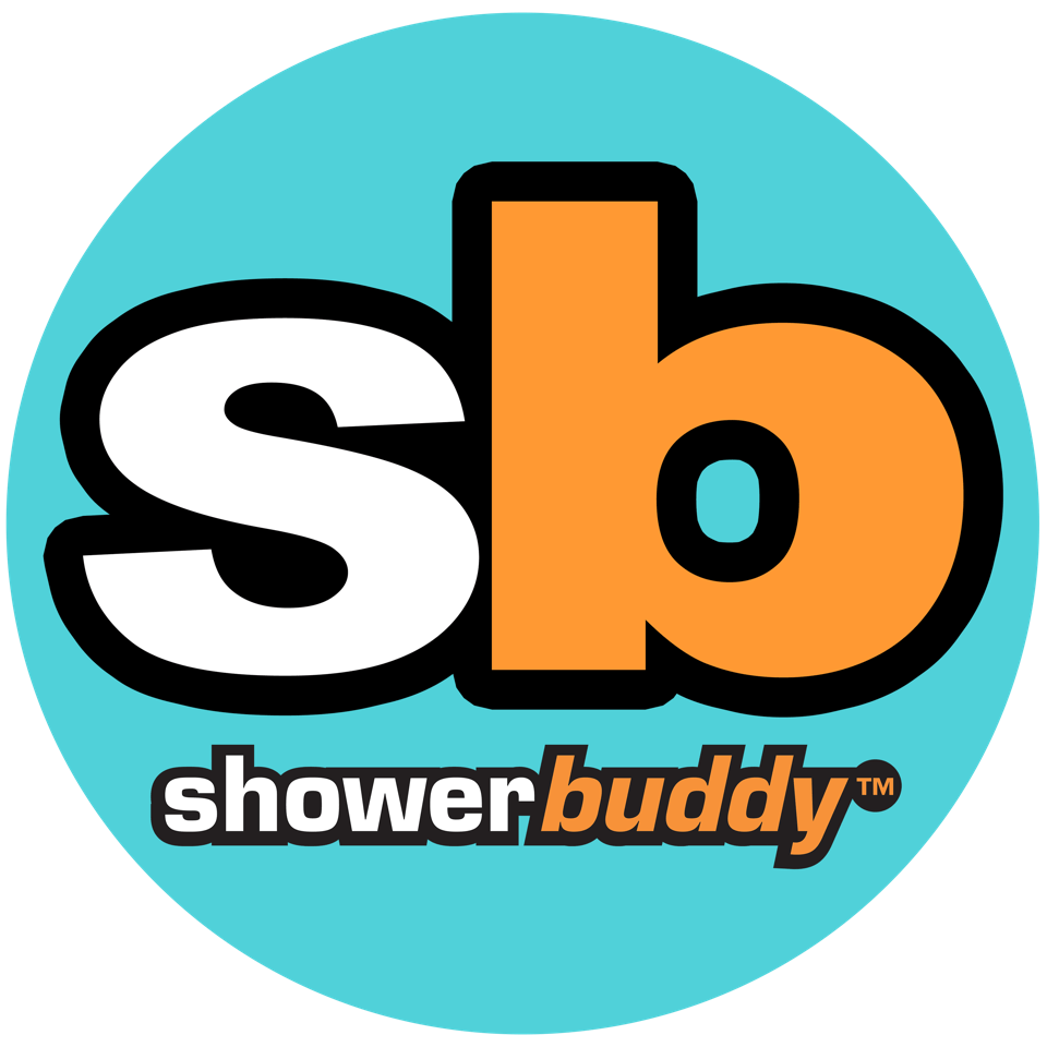 ShowerBuddy products- SB1 ShowerBuddy, SB2 TubBuddy, SB2T TubBuddy with Tilt, SB6C Roll-in ShowerBuddy, SB6C22 XL 22 inch Wide ShowerBuddy, SB6C26 XXL 26 inch Wide ShowerBuddy, SB6W Roll-in Buddy Solo