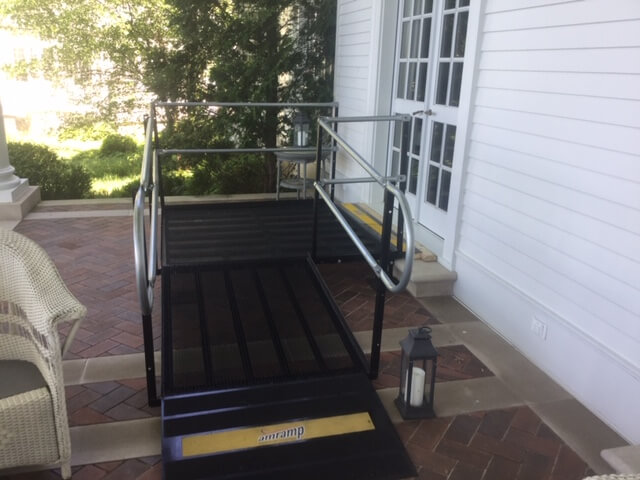 The Amramp Southeastern Wisconsin team installed five ramps at a property in Lake Geneva, WI.